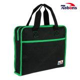 Commercio nero di vendita caldo sacchetto del computer portatile della cartella da 15 pollici