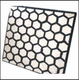 Placa de forro de compósitos cerâmicos de borracha para o cimento e terminais portuários