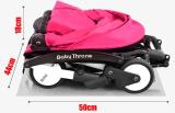 Nouveau système de repliage simple voyage bébé Bébé de la PRAM Transport temps poussette de bébé