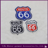 Route 66 Aplique patches bordados