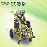 Thr-Cw985 Manual de respaldo alto reclinable silla de ruedas de los niños