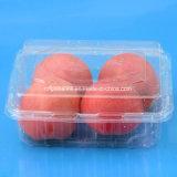 透過まめのクラムシェルペットプラスチックフルーツの包装ボックス