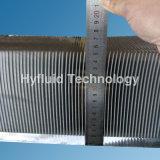 Il nero anodizza il dissipatore di calore delle alette raschiato alluminio per l'amplificatore