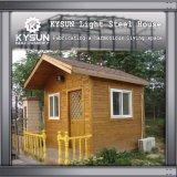 기숙사를 위한 주문을 받아서 만들어진 Prefabricated 2개의 지면 이동할 수 있는 별장