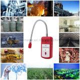 ガス分析器の可燃性ガスの探知器の携帯用プロパンのガスの漏出位置はテスターのメートル音ライトアラーム8800Aを定める