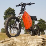 Bici eléctrica de la suspensión de montaña de la bici 8000W del bombardero lleno de la cautela