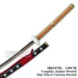 Anime Cosplay Espada um pedaço de papelão espada HK9470L