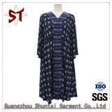 Original al por mayor largo abrigo Casual vestido de dama