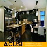 Comercio al por mayor de la isla de madera maciza estilo americano armarios de cocina (ACS2-W36)