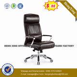$68 hoher rückseitiger Brown lederner ergonomischer Büro-Stuhl (NS-CF027B)