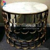 Tabella Hly-St07 del lato dell'acciaio inossidabile dell'oro della mobilia del salone