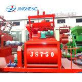 Nouveau type d'usine à bas prix d'alimentation JS750 Bétonnière Machine