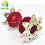 Árbol de aluminio anodizado árbol de aluminio modificado para requisitos particulares para las piezas de la motocicleta