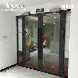(ANNY1807A) Push&Goの古典的な世代別自動ドアの入り口Sysytemおよび振動ドアの両開きドアの連結の中国の最初のMannufacture