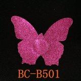 Cubierta atractiva de la entrerrosca de las mujeres rojas de la mariposa del diseño del OEM de la insignia de la marca de fábrica