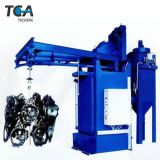 Granalhagem máquinas para fundição de metal, Peças de fundição de peças de chapa de aço, Pipe