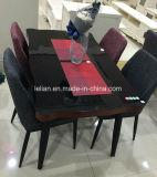 Tabela de jantar da tabela de jantar e cadeira ajustadas resistentes (LL-WST008)