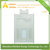 indicatore luminoso di via solare di 15W LED per 3-Years-Warranty con la certificazione del Ce