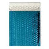 De couleur bleue sacs poly Mailer Poly Mailer auto joint plat de l'enveloppe à bulles d'expédition