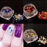 Красочные смешанных раунда 3D-украшения лак для ногтей - Блестящие цветные лаки пайетками