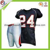 適当なスポーツシャツのカスタマイズされた昇華アメリカン・フットボールジャージーを乾燥しなさい