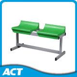 beweglicher Gymnastik2-row Bleacher/Sport-Prüftisch mit Plastikbleacher-Sitz