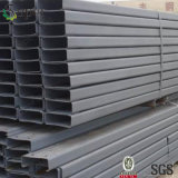 Faisceau en acier galvanisé de bâti en acier d'IMMERSION chaude
