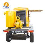 L'irrigation longue distance de l'eau Pluriétagé Diesel Haute Pression pompe à eau