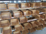 純木の食器棚の木の食器棚(W-008)