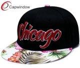 Snapback Brim Floral Hat avec broderie 3D personnalisé