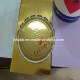 Goldene Farben-kann elektrolytischer Zinnblech-Ring T3-2.8/2.8g für Nahrung Kappen