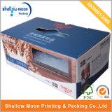 Kundenspezifische Großhandelspappverpackenkasten-faltender gewölbter Papierkasten