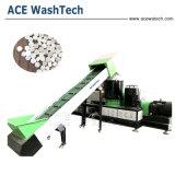PP PE los residuos plásticos único tornillo extrusora de compounding