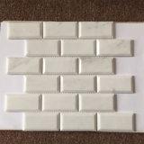 """Ванная комната 2X4""""мраморной мозаикой из кирпича стены плитки"""