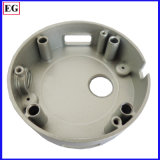 280 Ton Customized Aluminium Die Casting Parts Base de lâmpada LED