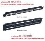 Kommunikations-Kabel u. Port-UTP Katze des LAN-Kabel-24. Panel der Änderung- am Objektprogramm6 mit rückseitigem Stab