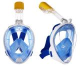 Snorkelt het Volledige Gezicht van de Apparatuur van het Vrij duiken van de Gift van Kerstmis Masker