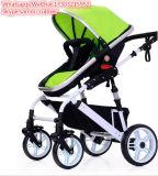 Type de poussette de bébé et poussette de bébé matérielle de bâti d'acier inoxydable