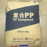 Hanwha-Gesamtpolypropylen-Plastik des Block-pp. Bu320 granuliert