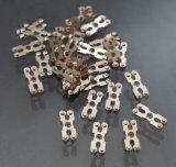 De de gespecialiseerde Delen en Assemblage van het Metaal (zilveren vastgenageld of gelast contact)