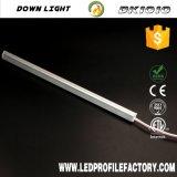 Perfil de alumínio LED magnético para iluminação de gabinete