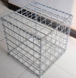 Hot-DIP гальванизированная низкоуглеродистая коробка Gabion стального провода