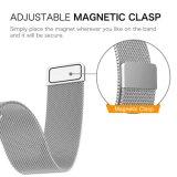22mm em aço inoxidável Loop Milanese Bandas de substituição para a Samsung S3 de engrenagem de faixa de relógio de liberação rápida