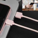 2 en 1 câble de chargeur d'USB pour lanière de collet d'iPhone la longue de bande détachable androïde de courroie pour des téléphones cellulaires