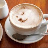 Focus DIY Selfie Ediable Pastel de tinta impresora café Latte Macaron