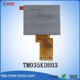 """3.5 """" der Farben-TFT 320X240 Baugruppe TM035kdh03 Punkte LCD-der Bildschirmanzeige-LCM mit IS Novatek Nt39016D"""