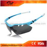 飛行士の屋外スポーツのEyewearガラスを運転する最もよい人のセリウムによって分極されるサングラス