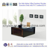 現代デザイン黒カラー木のオフィス表(M2610#0