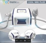 Não Invasiva da gordura portátil Cryolipolysis congelador a máquina com o queixo duplo