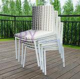 Im Freiengarten-Hotel-Freizeit, die PET Rattan-Tisch und Stuhl-Möbel speist